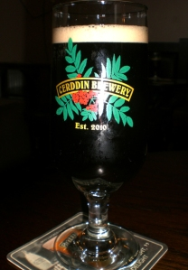 Beer from Cerddin Brewery