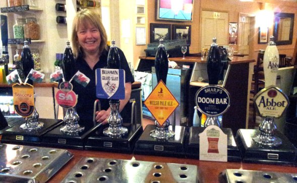 Six ales are now on offer at the Westbourne Inn