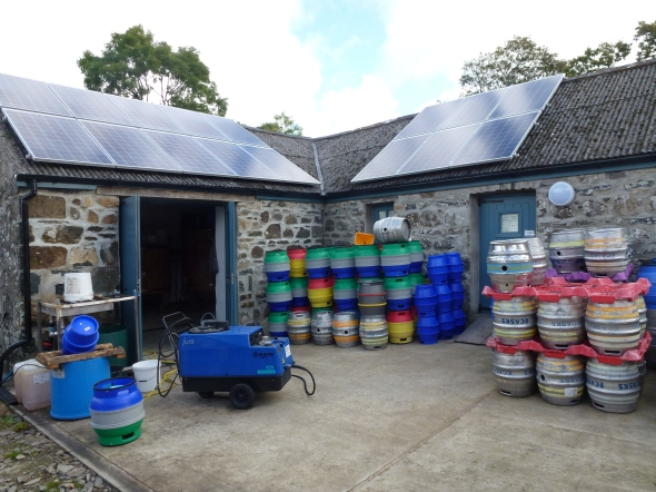 The Bluestone Brewery in Pembrokeshire.