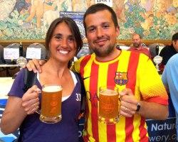 Laia Llenas Argelaguet and Joan Villar-i-Marti from Barcelona.