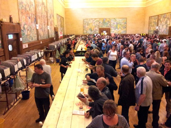The busy Brangwyn Hall during last year's festival.