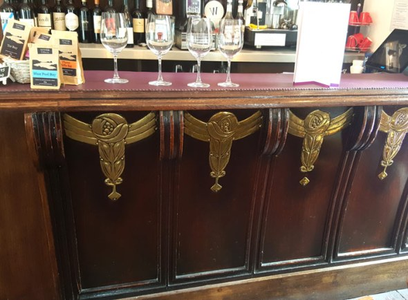The art deco bar that was rescued from the original Kardomah Café.