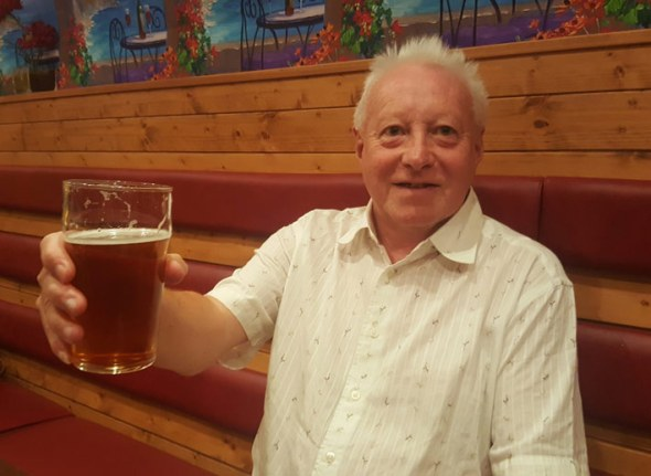 New Swansea Camra branch chairman Paul James.