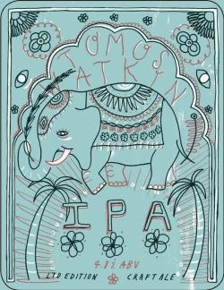 New branding for Tomos Watkin beers.