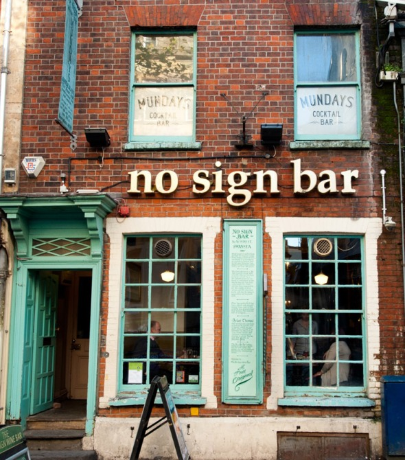 No Sign Bar