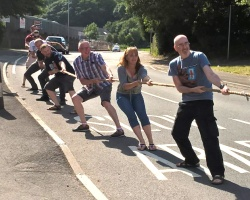 Tug of War at the Brit, Cwmavon