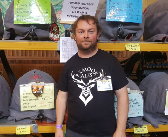 Donough Shanahan, the new chairman of Swansea CAMRA